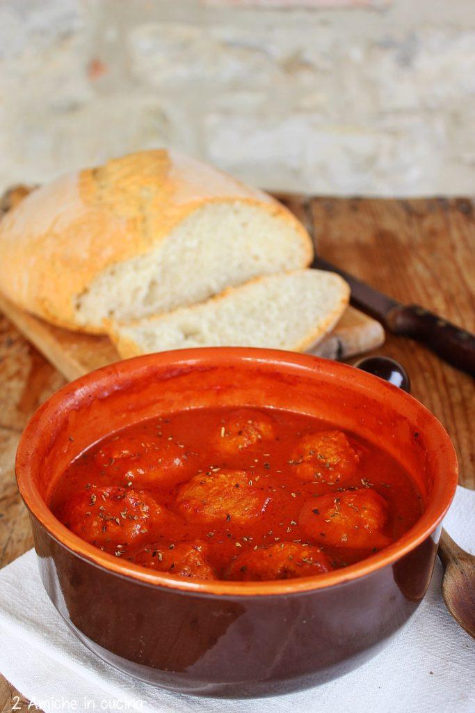Polpette di Sant'Antonio, secondo piatto tipico umbro, da accompagnare al pane sciapo