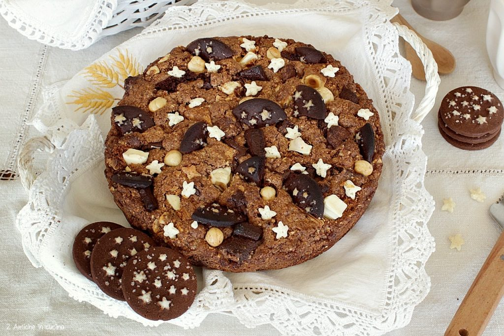 Torta cookie Pan di Stelle