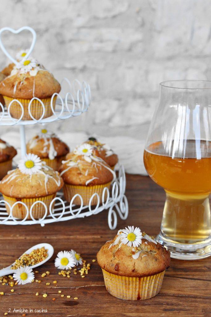 Muffin soffici alla birra bionda