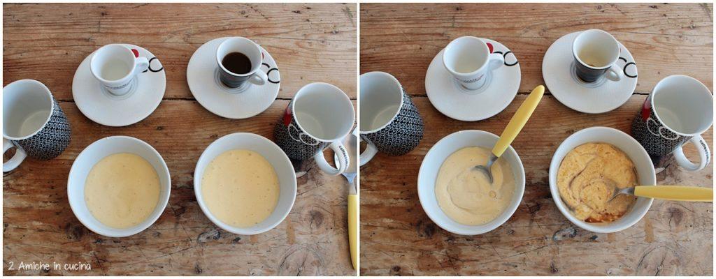 Come preparare la mug cake