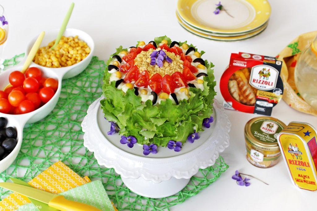 Torta tramezzino, smörgåstårta la torta svedese delle feste