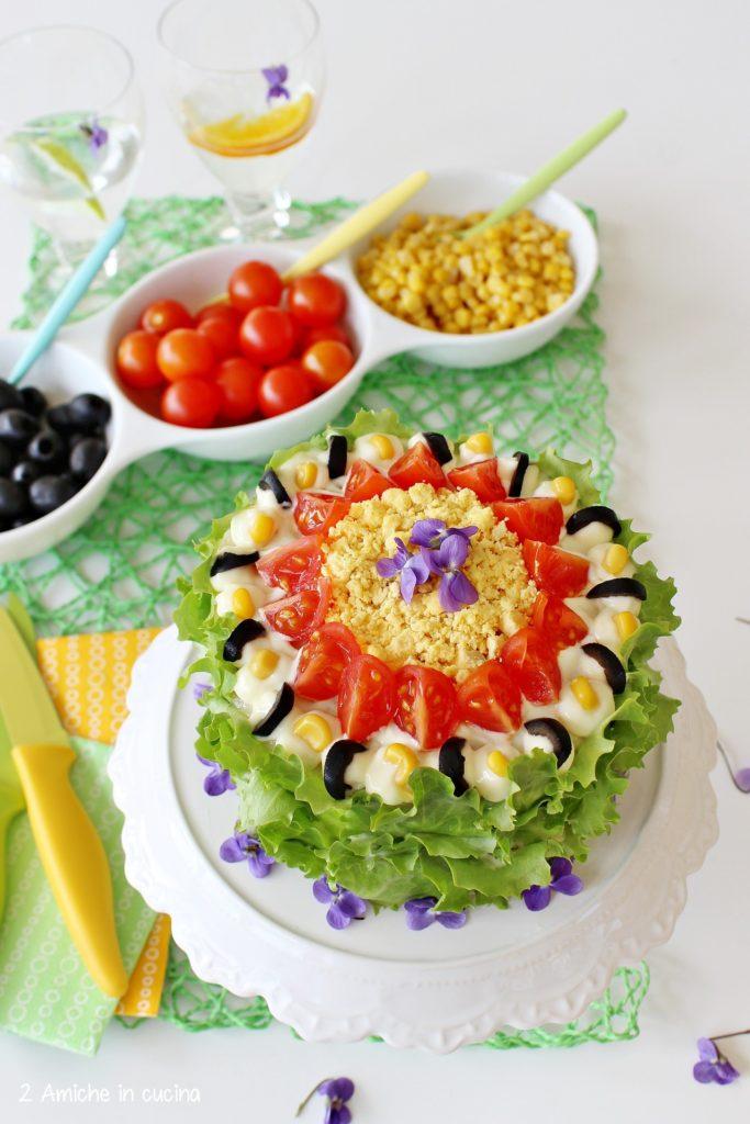 Ricetta per preparare la smörgåstårta la sandwich cake svedese