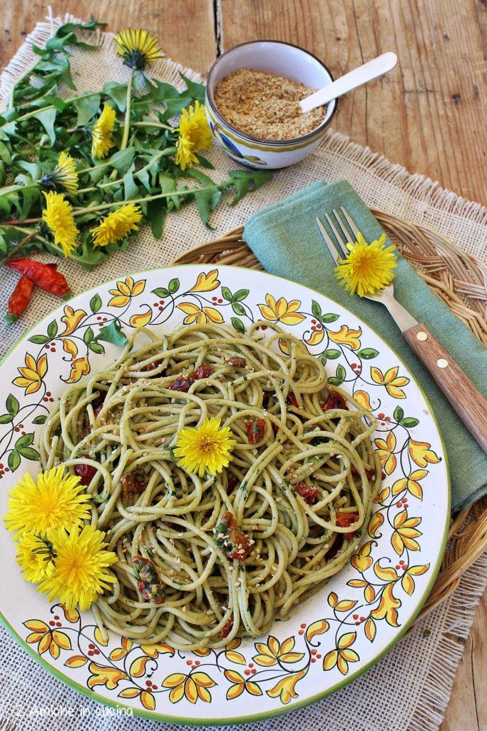 Spaghetti integrali Barilla con un condimento leggero senza sale