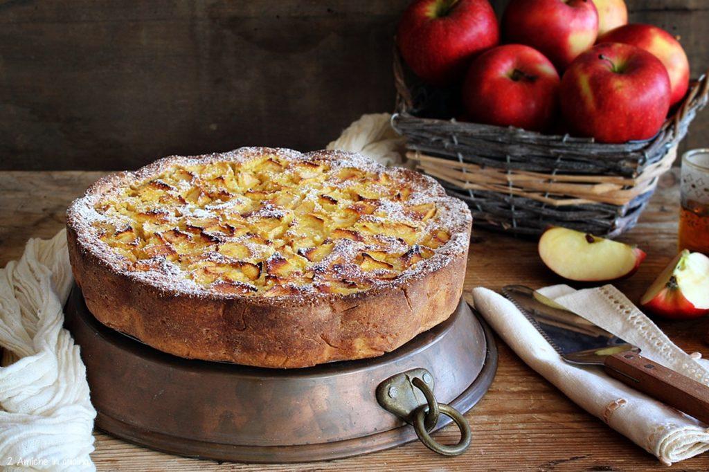 Torta di mele della Normandia- Tarte normande aux pommes