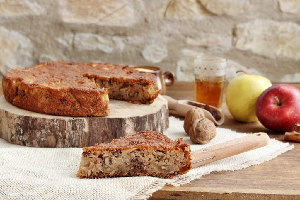 Dolce di mele senza glutine e senza lattosio