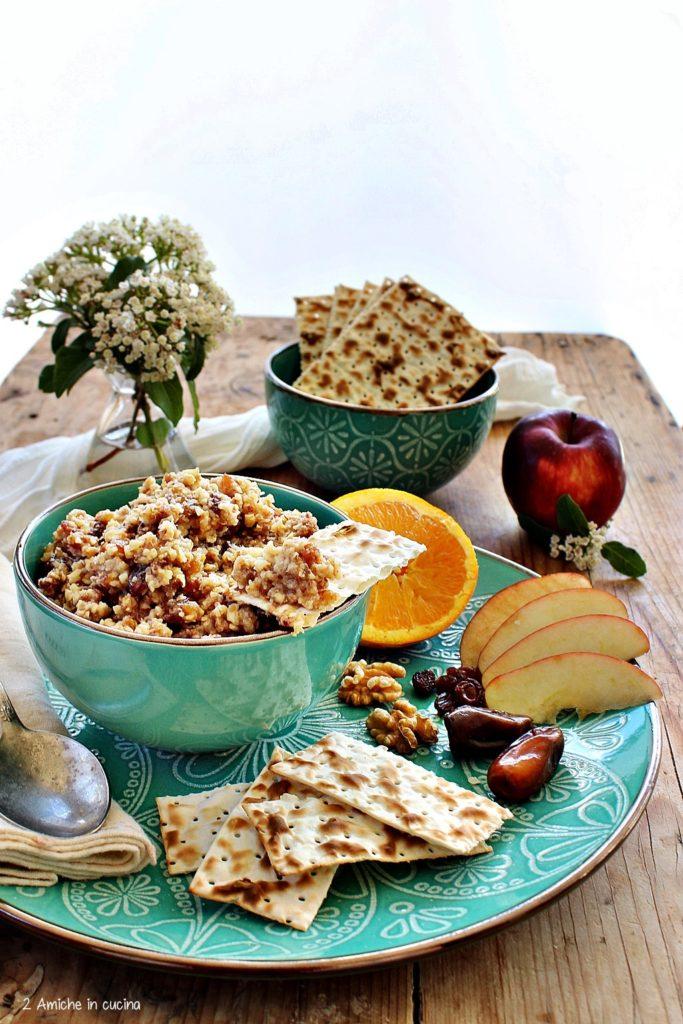 Charoset turco, ricetta tipica della Pasqua ebraica