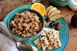 Ricetta dello charoset, dolce tipico della Pasqua ebraica