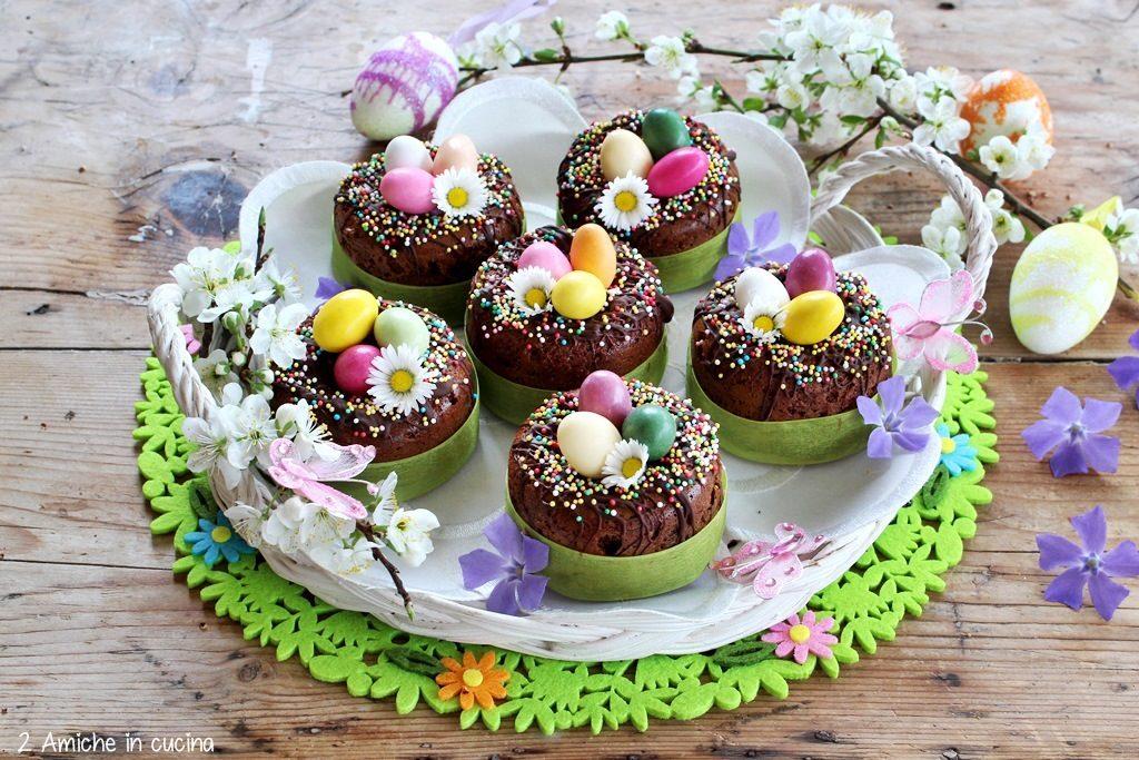 Ciambelline al cioccolato e pistacchio