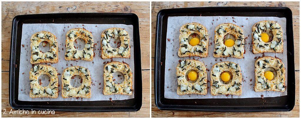Come preparare i crostini con le uova di quaglia