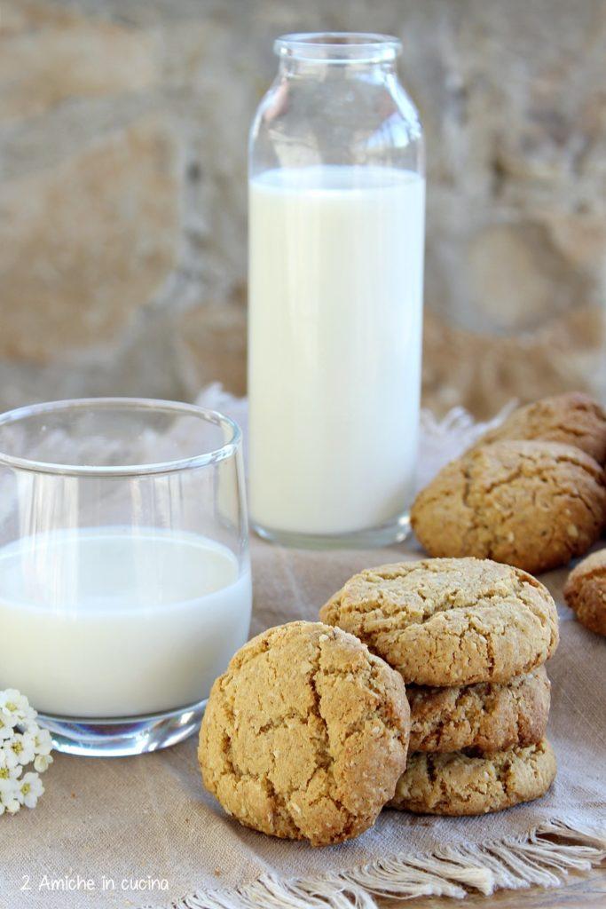 Oatmeal cookies, lactose free