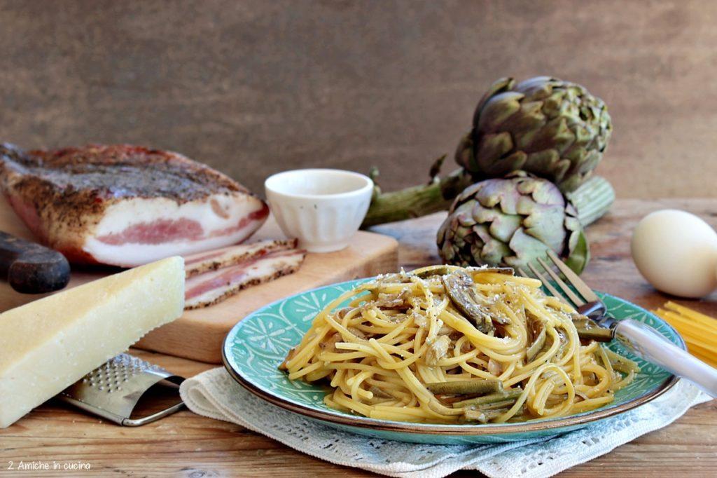 Spaghetti alla carbonara senza glutine