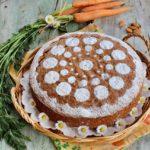 Torta di carote soffice, senza lattosio
