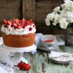 Chiffon cake, torta soffice senza lattosio per la festa della mamma