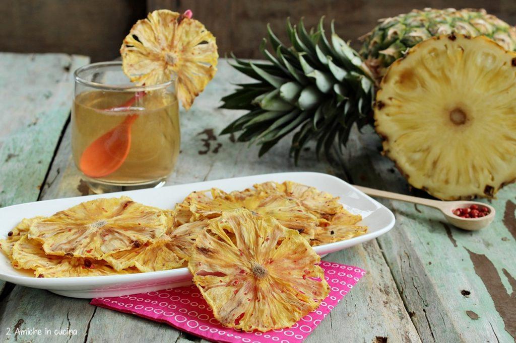 Ananas essiccata