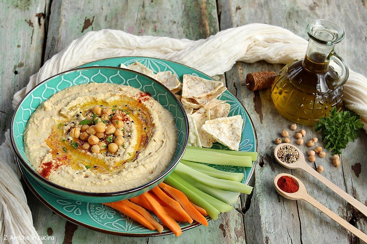 Ricetta Hummus Farina Di Ceci.Hummus Di Ceci Ricetta Con Tahina 2 Amiche In Cucina