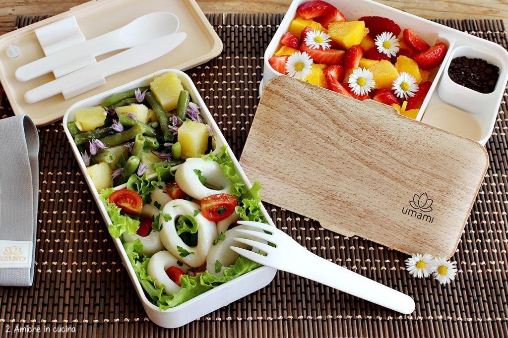 Ricette per il lunch box – 3 idee facili e leggere