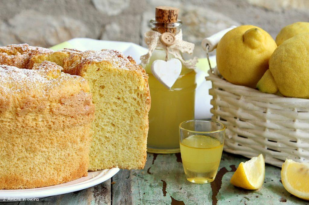 Torta soffice americana con limoncello