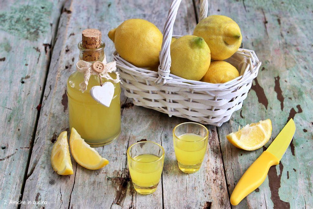Ricetta per preparare il limoncello