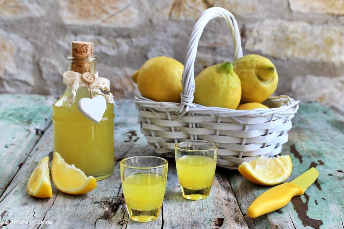 Ricedtta per preparare il limoncello fatto in casa