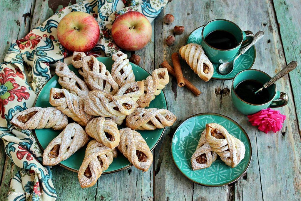 Biscotti turchi alle mele – Elmali kurabiye