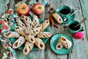 Biscotti turchi alle mele - Elmali kurabiye