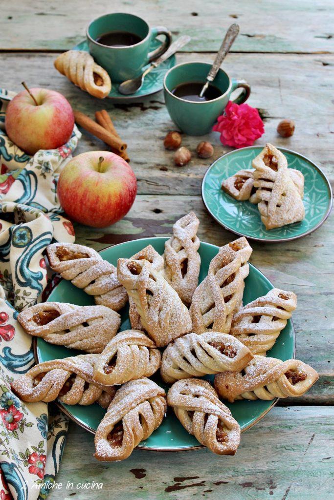 dolcetti turchi alle mele e cannella