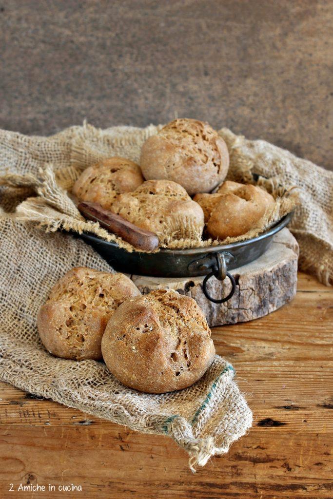 pane di segale in versione panino