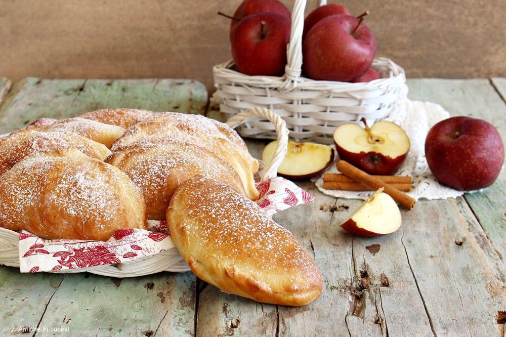 Fagottini di mele ricetta tipica del Belgio
