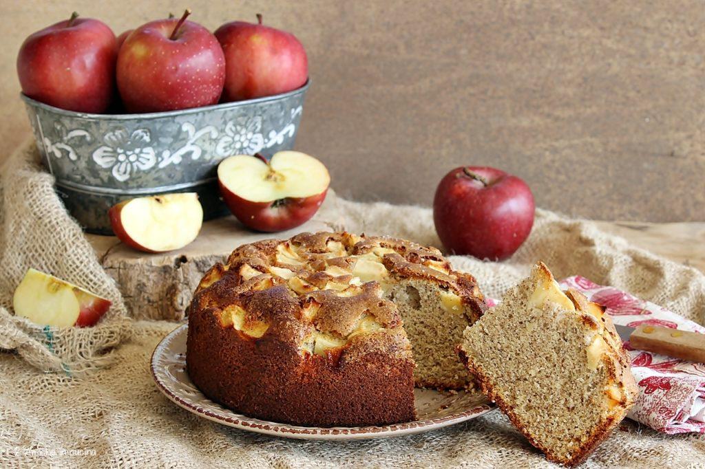 torta di mele e roveja