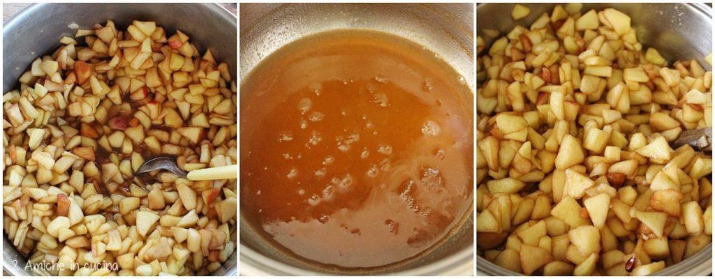 Preparazione del formaggio di mele lituano