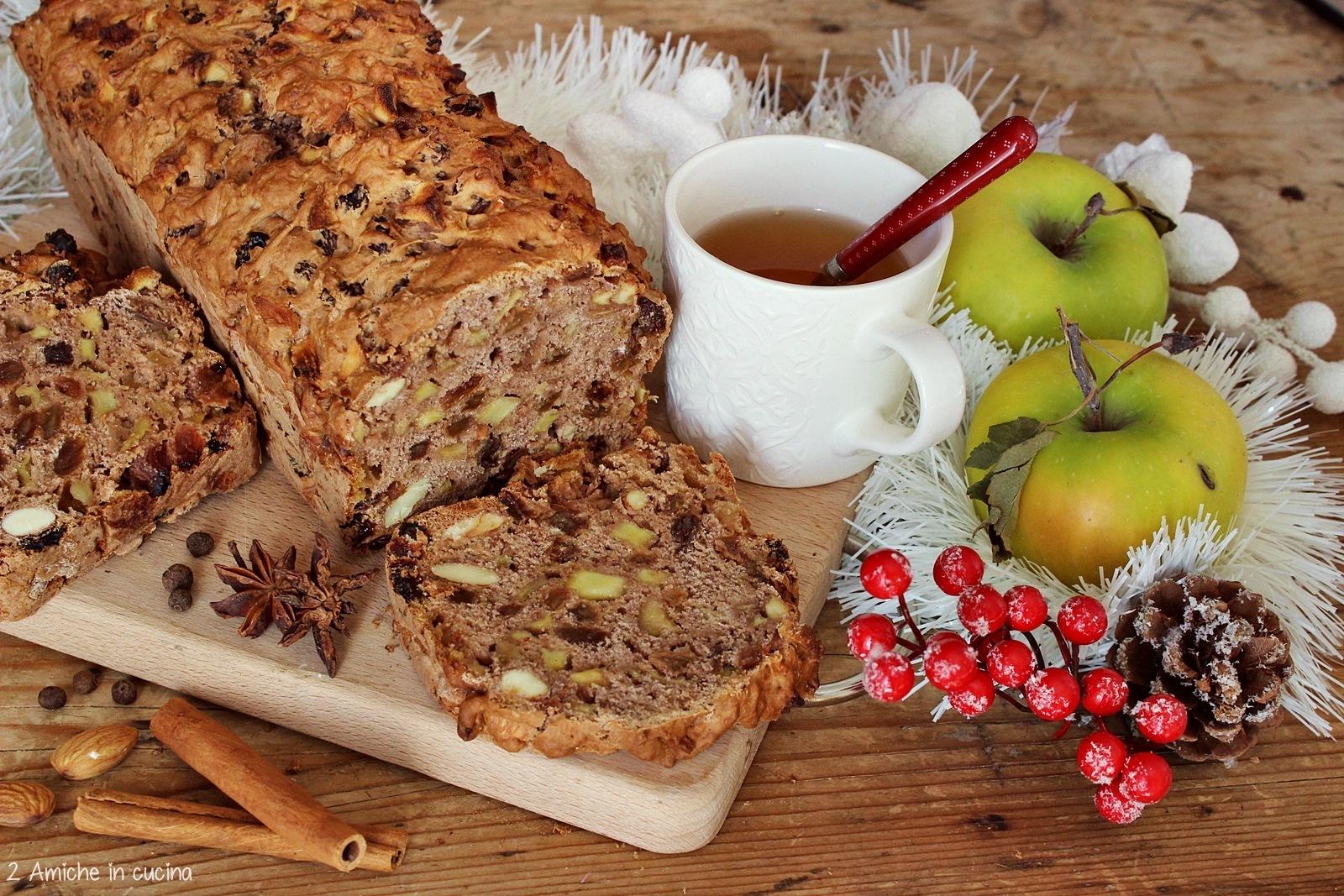 Ricetta apfelbrot, il pane di mele tedesco tipico di Natale