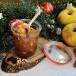 Confettura con mela Renetta, uvetta e pinoli