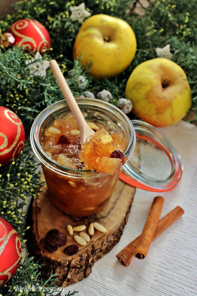 Confettura di mela Renetta, frutta secca e spezie