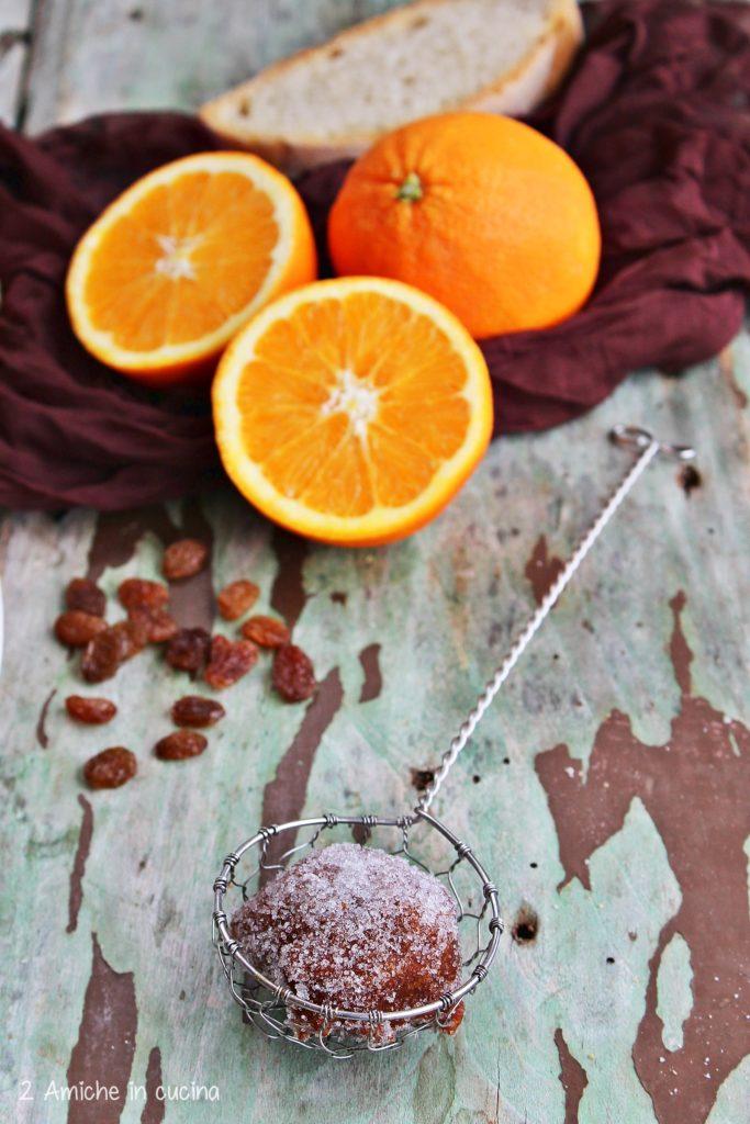 Frittella umbra di pancotto con uvetta e arancia