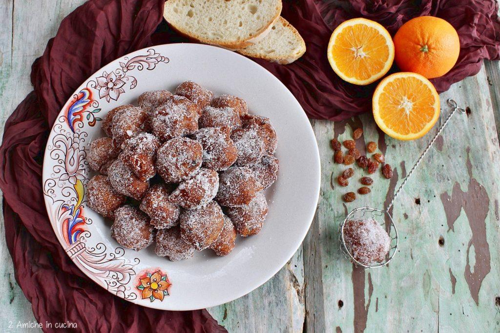 Frittelle  dolci umbre
