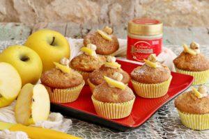 Muffin alle mele yello e crema spalmabile Rossana