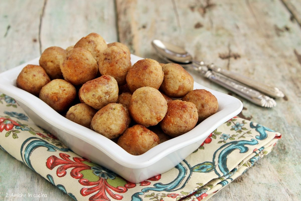 polpette di carne in onore di San Biagio, ricetta di Lanzara