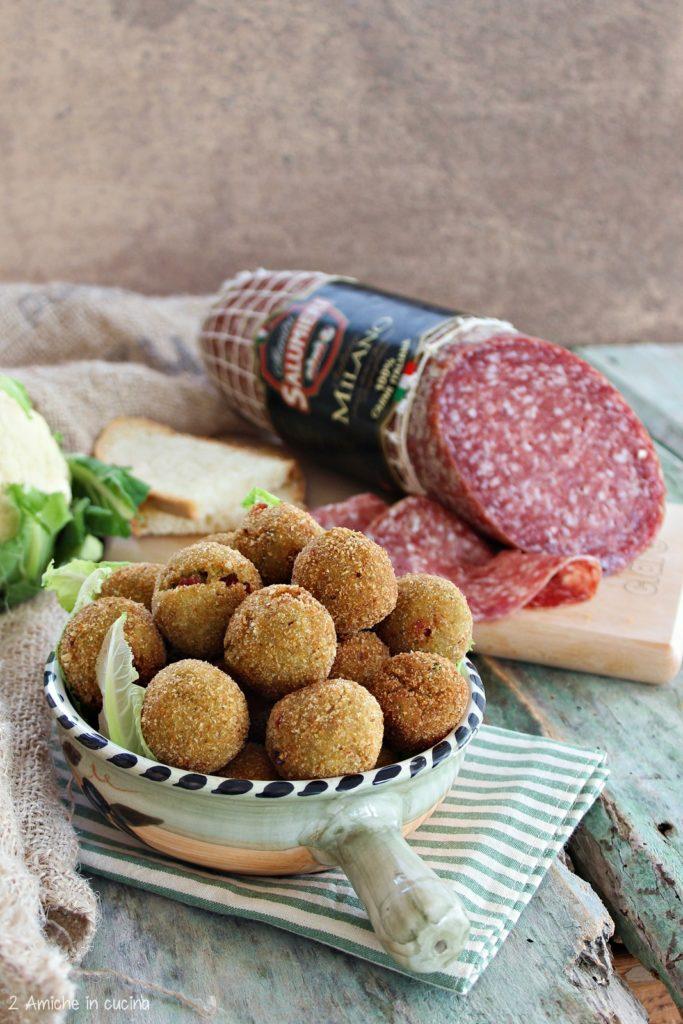 Polpette di pane raffermo con salame Milano CLAI
