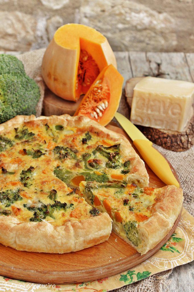 Rustico con verdura e formaggio