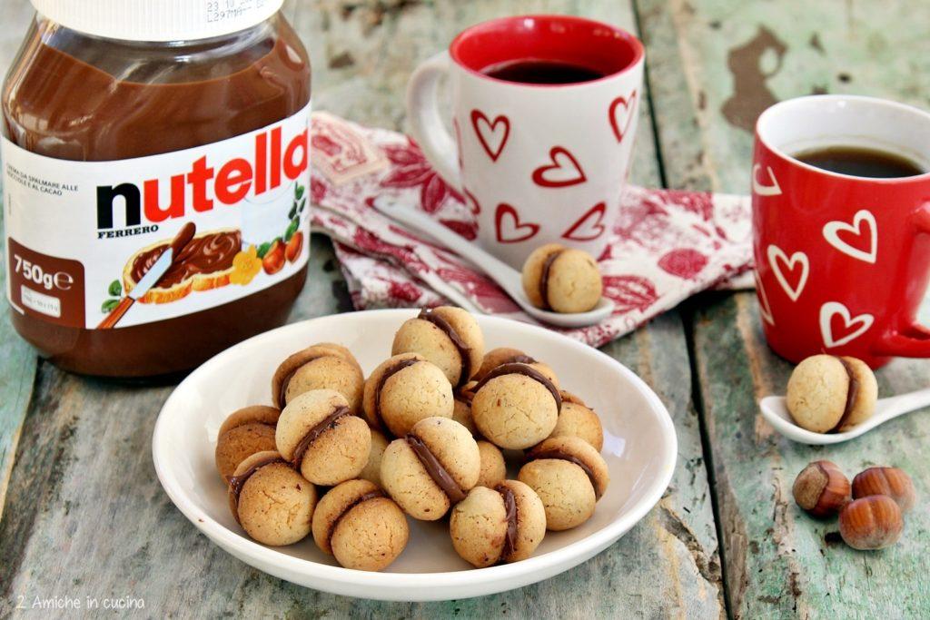 Baci di dama alla Nutella – Ricetta senza glutine