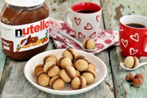 baci di dama alla Nutella