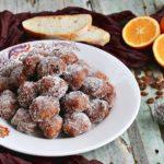 Frittelle dolci umbre con pane raffermo e uvetta