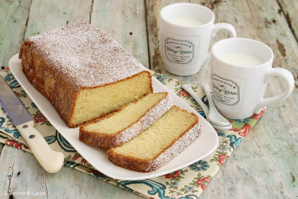 Ricetta della ponquè, la pound cake colombiana