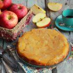 Torta de manzana, la torta di mele colombiana