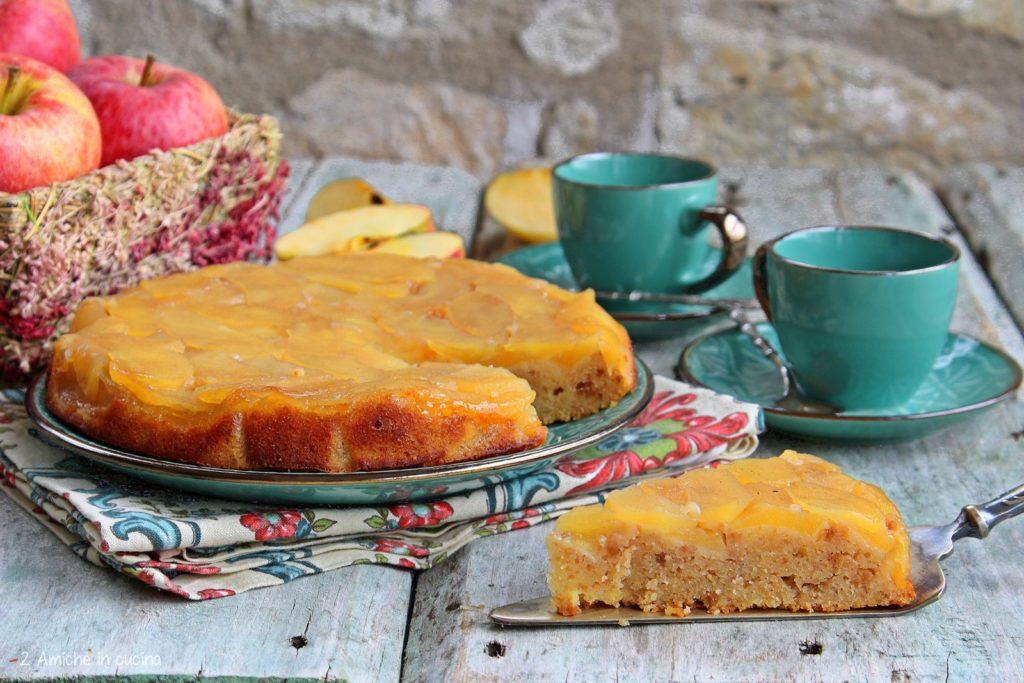Torta di mele colombiana con avanzi di torta ponqué