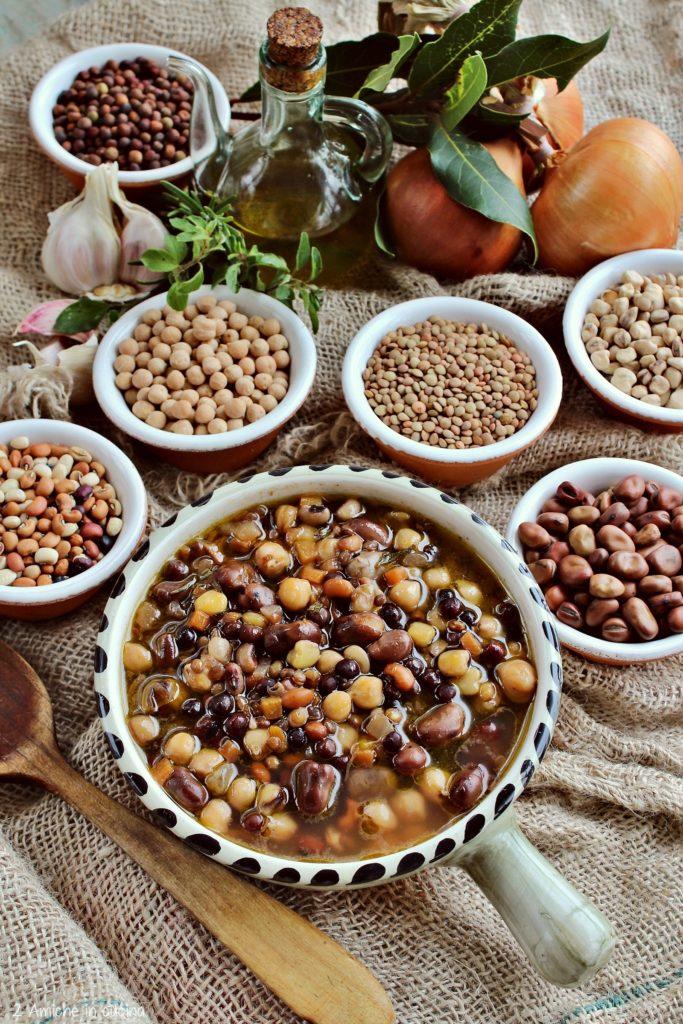 Zuppa di legumi misti umbri per la Giornata Mondiale dei Legumi