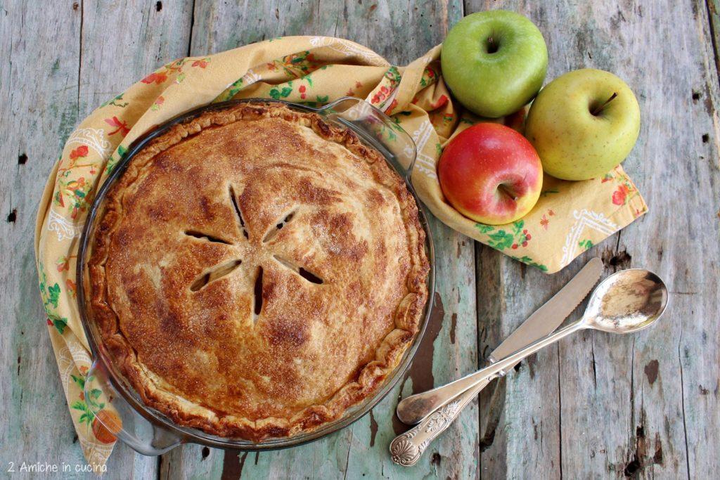 Torta di mele americana, apple pie di Nonna Papera