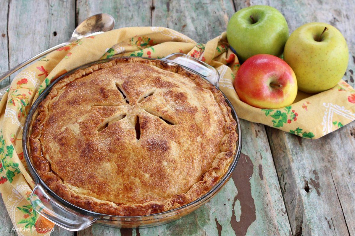Apple pie, la torta di mele americana, come quella di Nonna Papera
