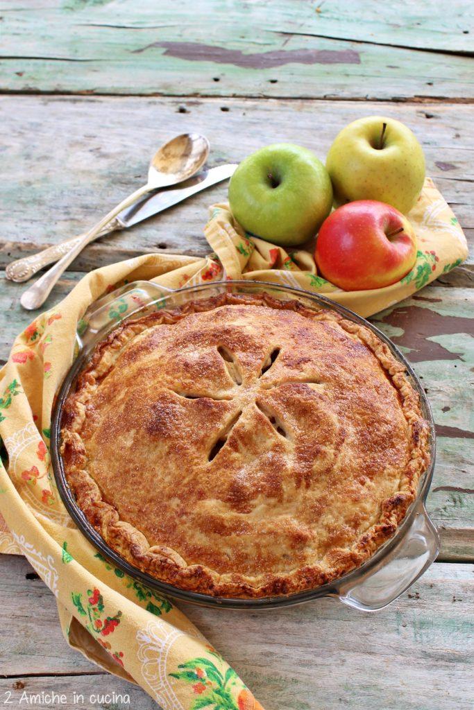 La torta di mele di Nonna Papera, apple pie americana