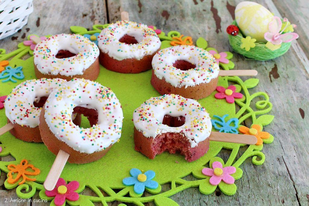 Ciaramicola donut, rivisitazione per bambini della classica ricetta tipica umbra